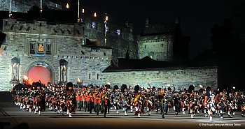 Military Tattoo Edinburgh © The Royal Military Tattoo
