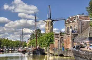Windmühle in Gouda © Jan Kranendonk-fotolia.com