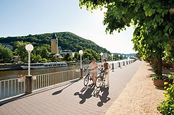 Radtour in Bad Ems © Stadt- und Touristikmarketing Bad Ems e.V./Foto: Dominik Ketz