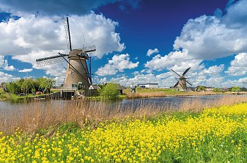 Windmühlen in Kinderdijk © jovannig-fotolia.com