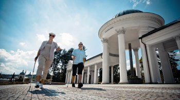 Nordic Walking in Marienbad © David Marvan/CzechTourism
