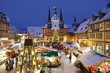 Weihnachtsmarkt Wernigerode In Den Höfen.Imken Touristik Wernigerode