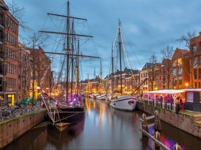 Groningen Weihnachtsmarkt.Imken Touristik Groningen